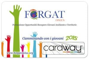 La CardWayForgat verrà distribuita gratuitamente a tutti gli associati.